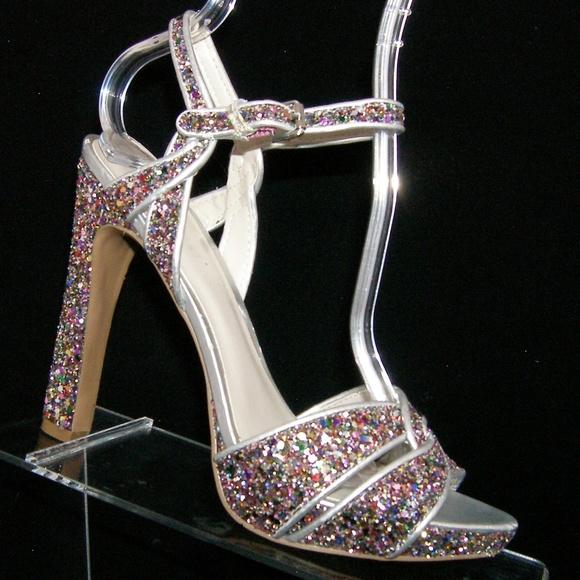 4323d9d62721 Nine West Shoes | Hotlist Sparkle Glitter Platforms 7m | Poshmark